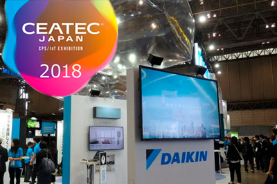 Стенд Daikin на выставке CEATEC JAPAN 2018
