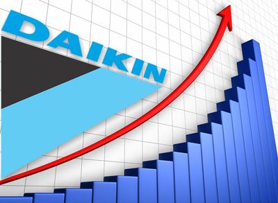 Рост продаж Daikin
