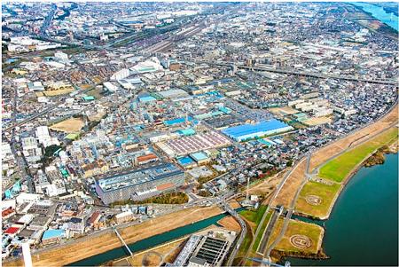 завод Daikin Yodogawa (Settsu, префектура Осака)